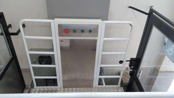 Elevador acessibilidade cadeirante