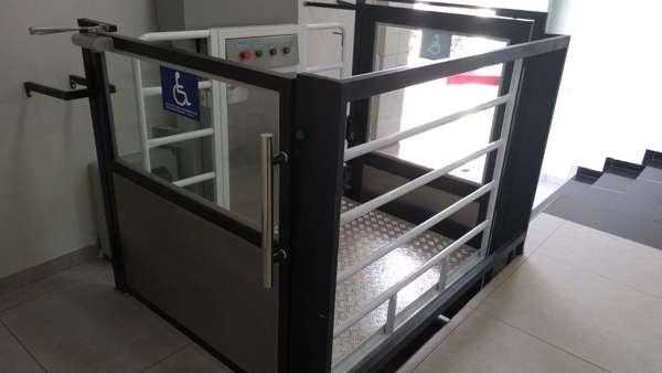 Plataforma para cadeirante