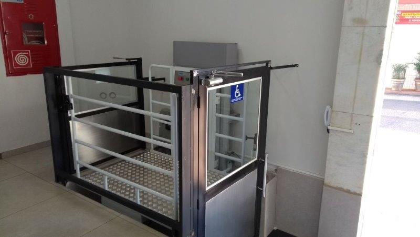 Plataforma para cadeirante preço